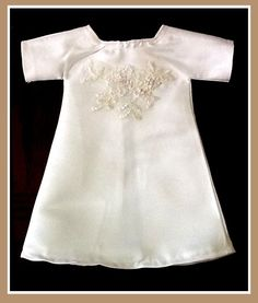 Angel Gowns - a place to donate your wedding dress and they turn it into gowns for babies who were born sleeping.