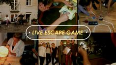 #LiveEscapeGame is the new Definition of enjoyment. Hop onto ClockedIn for a better team-building with your colleagues.