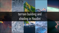 Hello everyone, This training is will cover the new height field tools introduced in Houdini 16. The training comprises of 5 projects that will cover techniques…