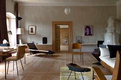 Home of artist Erwin Wurm. Photograph by Reto Guntli
