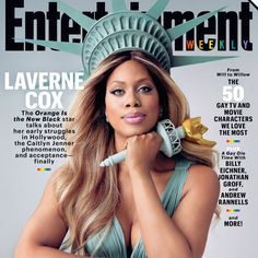 Pin for Later: Laverne Cox Just Dominated Her Entertainment Weekly Cover