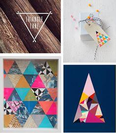 Trending: Triangles « Design Bright