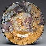 John Glick plate  Plum Tree Pottery