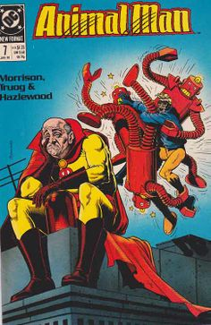 AnimalMan Issue #7 By Grant Morrison