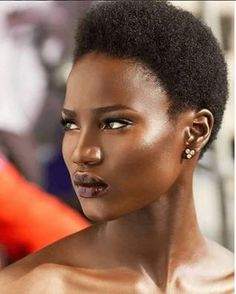 TWA Flawless Beauty Source: finestcameroonians #naturalhairmag