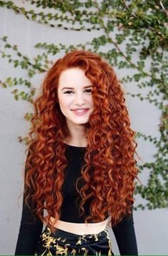 Do you have curly hair? It is not a problem as you can easily curl your beautiful tresses for a look that is totally feminine and pretty. - May 18 2019 at Cute Curly Hairstyles, Curly Hair Styles, Natural Hair Styles, Wedding Hairstyles, Messy Curly Hair, Curly Hair Boys, Beautiful Long Hair, Natural Curls, Ginger Hair