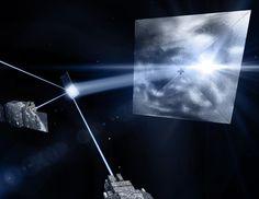 Science & Vie - vaisseaux à voile laser