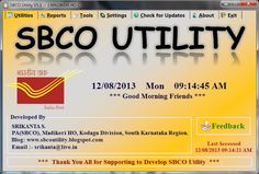 SBCO UTILITY V5.1    Download Link 1 OR Download Link 2   Installation Guide:- Download   Microsoft .NET Framework 3.5 Download   Changes From V5.0 to V5.1  1) Added Feedback option in front page and About Page to send user Feedback. 2) Added Category Settings Option to Use only Selected Category. 3) Fixed Some Bugs.