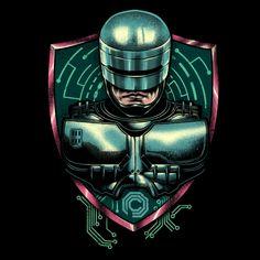 Cyberpunk Robocop by Vincent Trinidad