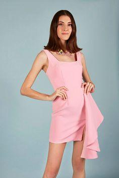 VESTIDO ELIZA | Teria Yabar Primavera Verano 2020 Lana, Cold Shoulder Dress, Dresses, Fashion, Vestidos, Minimal Dress, Spring Summer, Moda, Fashion Styles