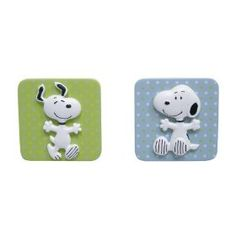 Amazon. com- Lambs & Ivy:  Snoopy Drawer Pulls $6.29 + 6.99 s/h