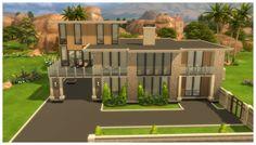 Maylenderton Modern Home by CarlDillynson at Mod The Sims via Sims 4 Updates