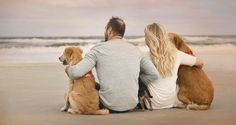 Couples and Engagement Portraits Photographed by Chelsea Whiteman Photography, a Jacksonville, Florida Photographer Beach Photography, Couple Photography, Engagement Photography, Photography Ideas, Photos With Dog, Dog Pictures, Family Pictures, Beach Family Photos, Beach Photos