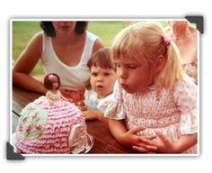 my barbie cake - age 4