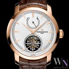 VACHERON CONSTANTIN - Patrimony Traditionnelle 14-day Tourbillon Discover the world of watches on: www.watches-news.com #Watch