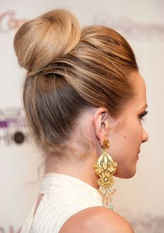 Cute Bun Hairstyles 2014: Twisted Updo Hairstyle