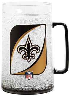 NFL New Orleans Saints 36Ounce Crystal Freezer Monster Mug -- Be sure to check out this awesome product.-It is an affiliate link to Amazon. #CampKitchenEquipment