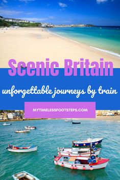 Train Travel in UK A Quintessential Odyssey | Best 8 UK Scenic Train Journeys | My Timeless Footsteps