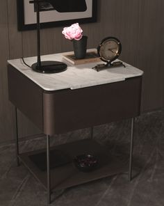 LINDO Bedside table by MisuraEmme design Marelli e Molteni