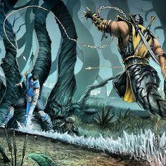 SubZero vs Scorpion