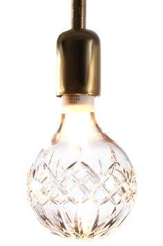 crystal light bulb by A+R