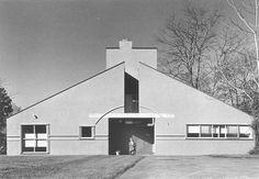 Vanna Venturi House, 1959-1964 Venturi & Short, architects, Robert Venturi, Project Architect