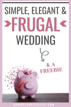 Do you need ideas on a frugal wedding? Learn ways to cut expenses on wedding decorations, food, wedding dress, and more. Money Saving Tips, Saving Ideas, Wedding Freebies, Planning A Small Wedding, Low Budget Wedding, Wedding Signs, Wedding Ideas, Wedding Stuff