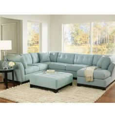 Grab various Unique Blue Sectional Sofa Light Blue Suede Sectional Sofa design ideas from Ann Griffin to upgrade your dwelling. Blue Couch Living Room, Living Room Sectional, New Living Room, Sofa Design, Light Blue Couches, Blue Leather Sofa, Leather Sectional, Black Leather, Blue Sectional
