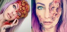 Esta chica realiza los maquillajes más terroríficos y realistas del mundo ¡Ideales para Halloween!