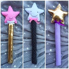 Magic wands! ⭐️⭐️⭐️ #lullipepe #handmade #kids #supporthandmade #shopsmall #SupportArtisans #handmadeloves #craftsposure #charhadas #handmadeisbetter #makersvillage #favehandmade #handmadeabcn #craftymom #makersmovement #cylcollective #wemakecollective #madeinbarcelona #handmadehq #instakids #toys #softtoys #magicwand #star #fairy #fairyprincess #imaginativeplay  #hechoamano #estrella