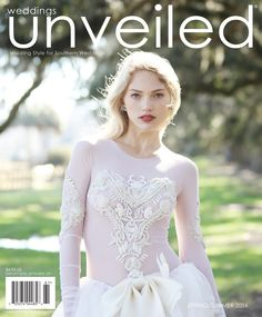 The Spring/Summer 2016 issue of Weddings Unveiled, photographed on location at Boone Hall Plantation & Gardens in Mount Pleasant, SC. Dress by Vera Wang, earrings by Erickson Beamon, hair and makeup by Samantha A. Smith.