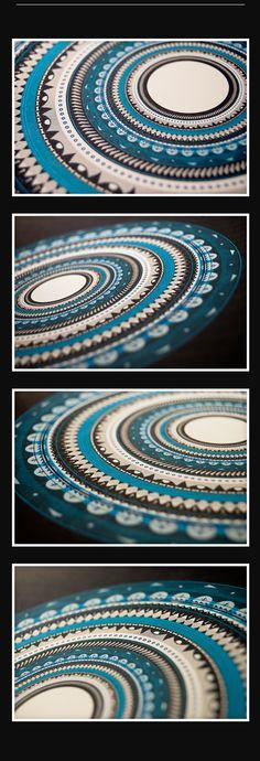 Circular Pattern / illustration by Afonso Arraiano, via Behance