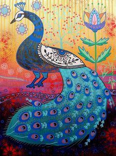 Magpie, Folk Art, Birds, Animals, Animales, Popular Art, Animaux, Bird, Animal