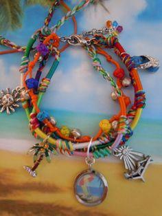 margaritaville tropical lifes a beach flip flop palm by 57cooncat, $16.00