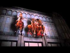 Projection Mapping :: Ralph Lauren on Bond Street :: #Technology #Projection #ProjectionMapping