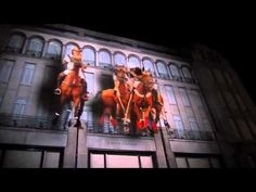 Projection Mapping :: Ralph Lauren on Bond Street :: #Technology #Projection #ProjectionMapping