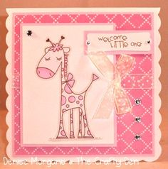 New baby card @Hillary Platt Bandley Flora, for sophias announcements!