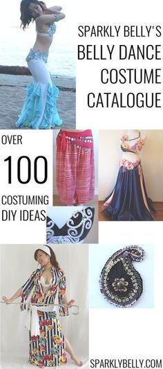 100+ DIY Belly Dance Costuming Ideas!