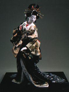 Takao Tayu by Kyoto doll maker Shisui Sekihara