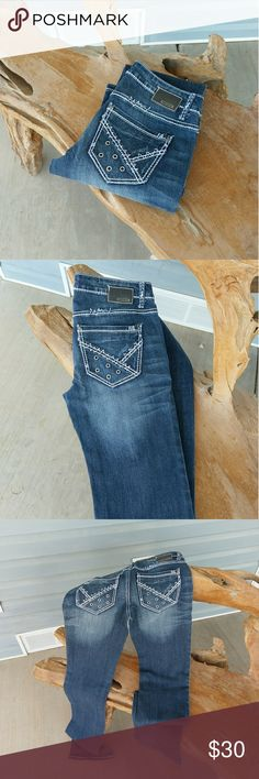 """Petrol bootcut jeans Like new, worn but once. 36"""" inseam. Rivet details on back pockets. Petrol Jeans Jeans Boot Cut"""