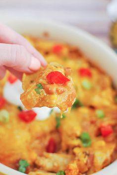 Chicken Burrito Dip!