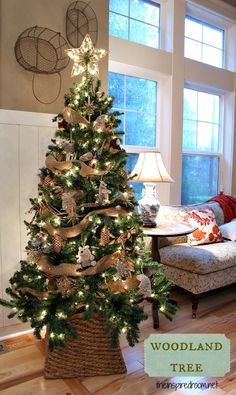 CHRISTMAS  @MichaelsStores Dream Tree Challenge by The Inspired Room  #Christmas #holiday #tree