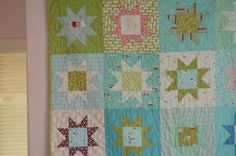 comfortstitching frosty quilt