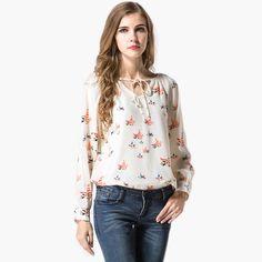 2017 new sweets print women fashion blusas mujer blusa social feminina korean tops roupas moda long sleeve camisa female blouse