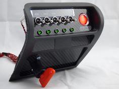 Honda Integra Type-R Switch Panel – Custom Cluster Development Jeep Mods, Car Mods, Fiat 600, Mini Cooper S, Integra Type R, Diy Go Kart, Helmet Paint, Roll Cage, Rally Car
