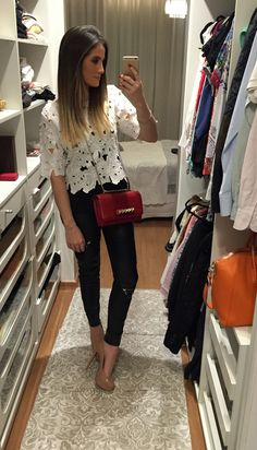 Blusa Skazi | Calça Zara | Bolsa Valentino | Sapato Louboutin