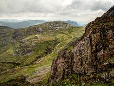 Allen Crags and the Langdale Pikes from the base of Custs Gully on Great End | Flickr - Photo Sharing!