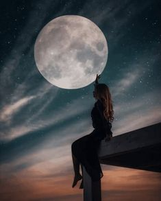 I hope you have a wonderful Night. Shotting Photo, Moon Photography, Moonlight Photography, Photography Editing, Photography Tutorials, Creative Photography, Digital Photography, Portrait Photography, Moon Pictures