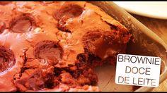 Brownie Recheado de Doce de Leite - Confissões de uma Doceira Amadora - YouTube