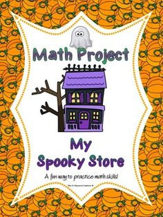 A spooky and fun way to practice a variety of math skills! It can be used any time of the year, but what better time to use it than around Halloween!